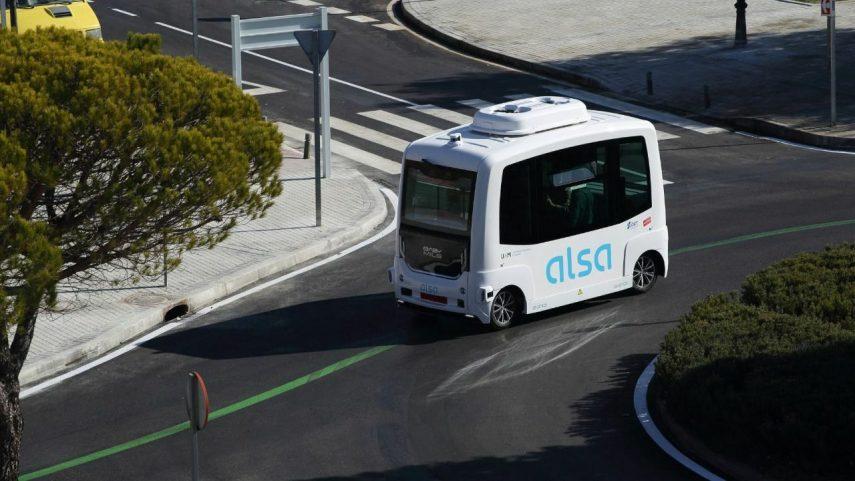 El primer autobús autónomo de España ya está circulando