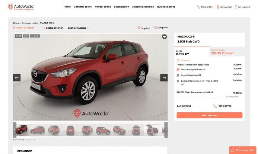 Autoworld Mazda CX 5