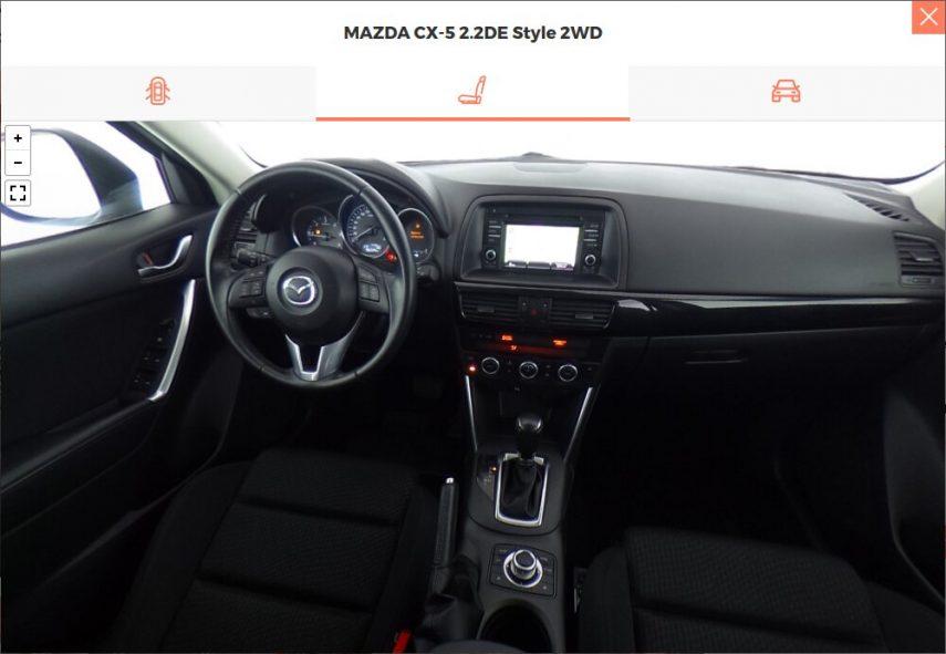 Autoworld Mazda CX 5 interior