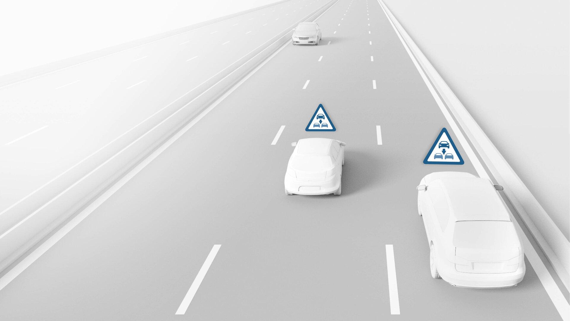 Bosch anuncia una solución para avisar de conductores en sentido contrario en autopista