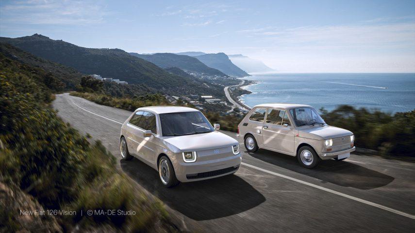 Fiat 126 Vision, el compi del 500 que, lamentablemente, no tendremos