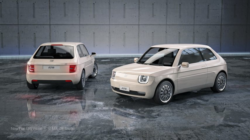 Fiat 126 Vision 10