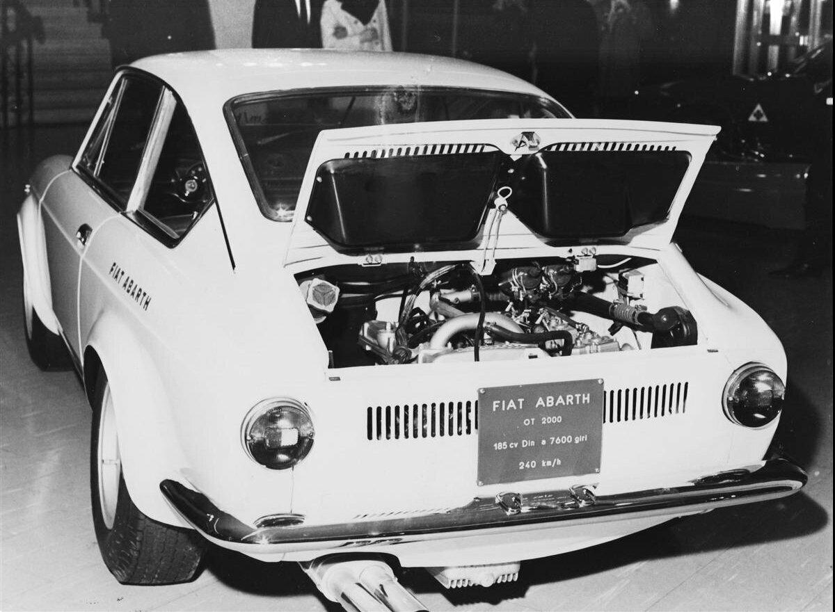 Fiat Abarth OT 2000 Coupe 3