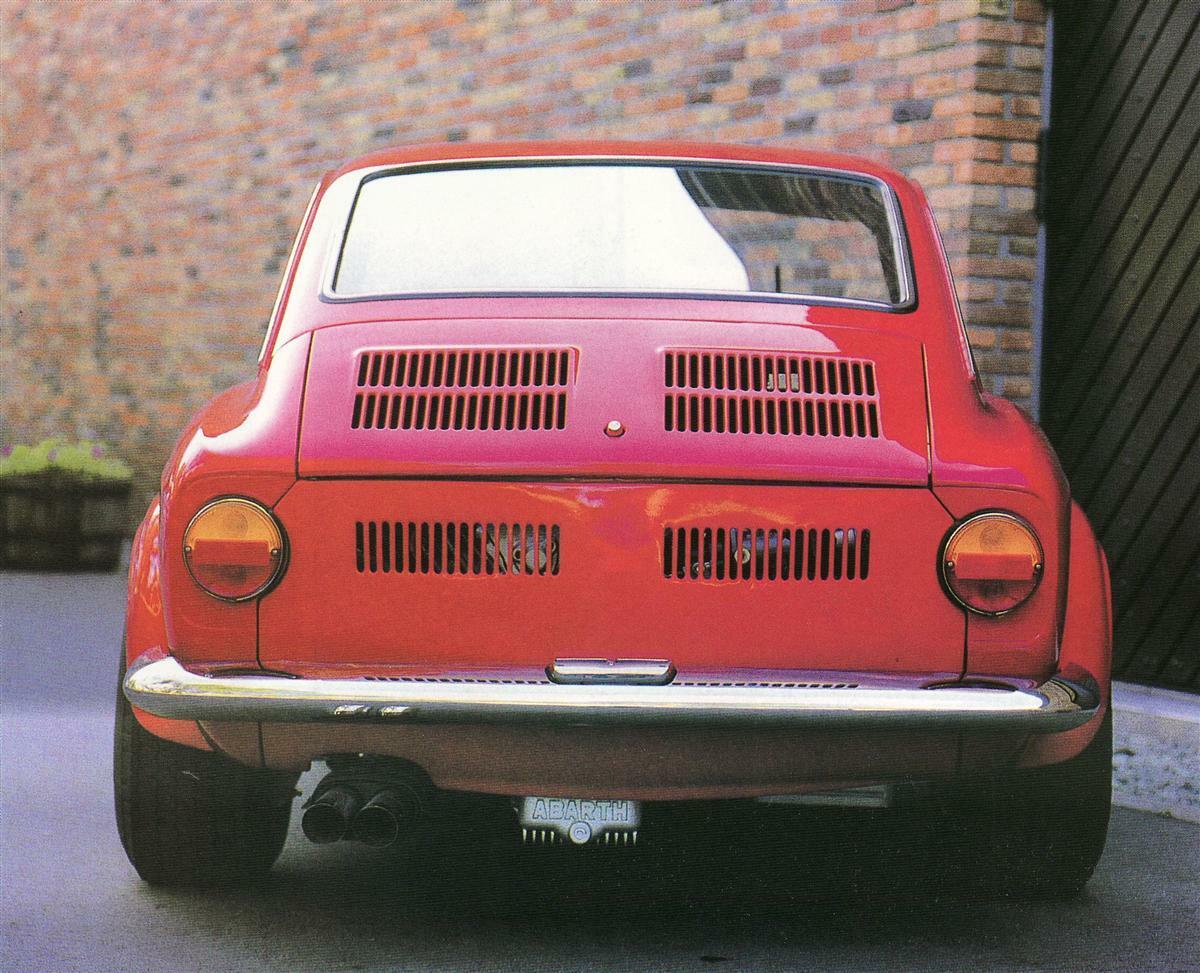 Fiat Abarth OT 2000 Coupe 5