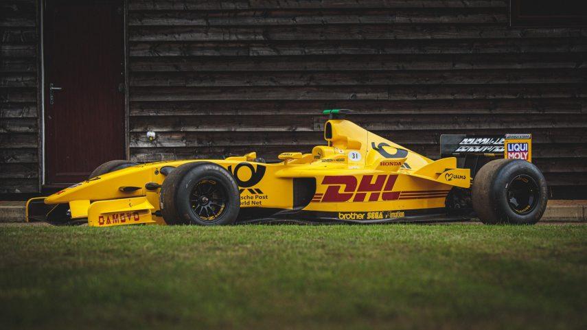 Jordan F1 Car 8