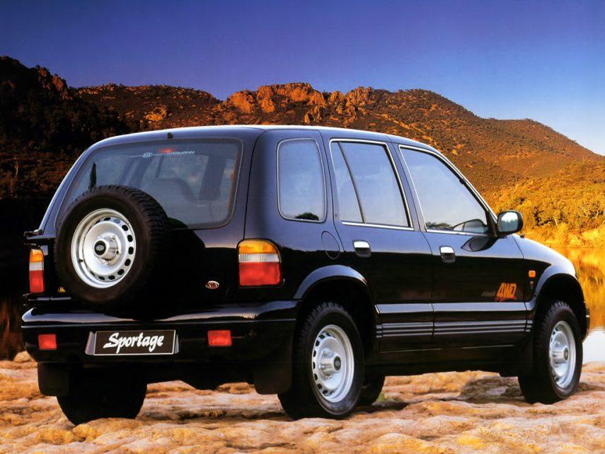 Kia Sportage 1993 3