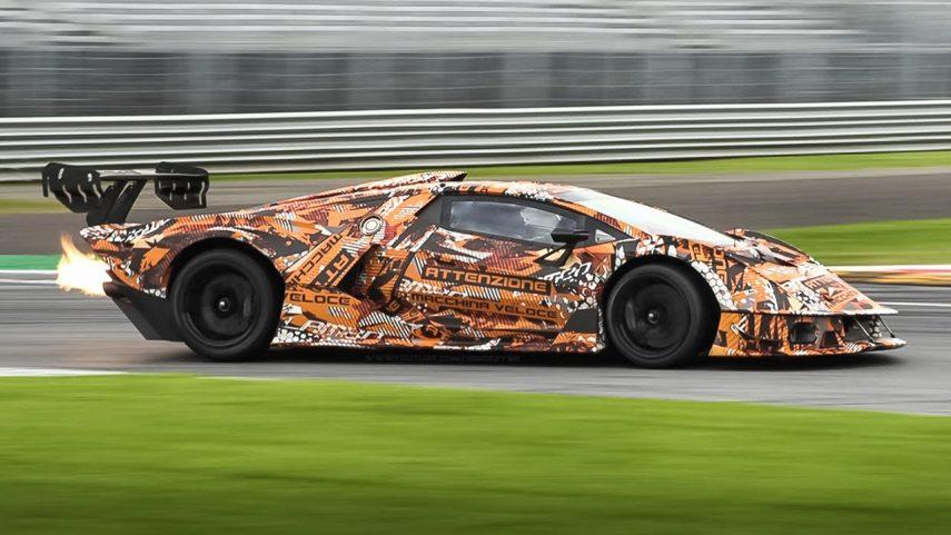 Deleitémonos con el sonido del Lamborghini Essenza SCV12