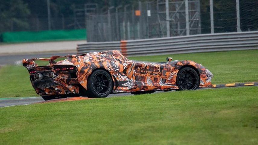 ¿Qué nuevo cohete está poniendo a punto Lamborghini?
