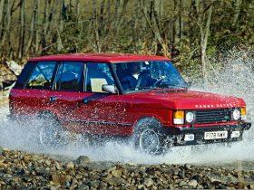 Land Rover Range Rover 1986 1
