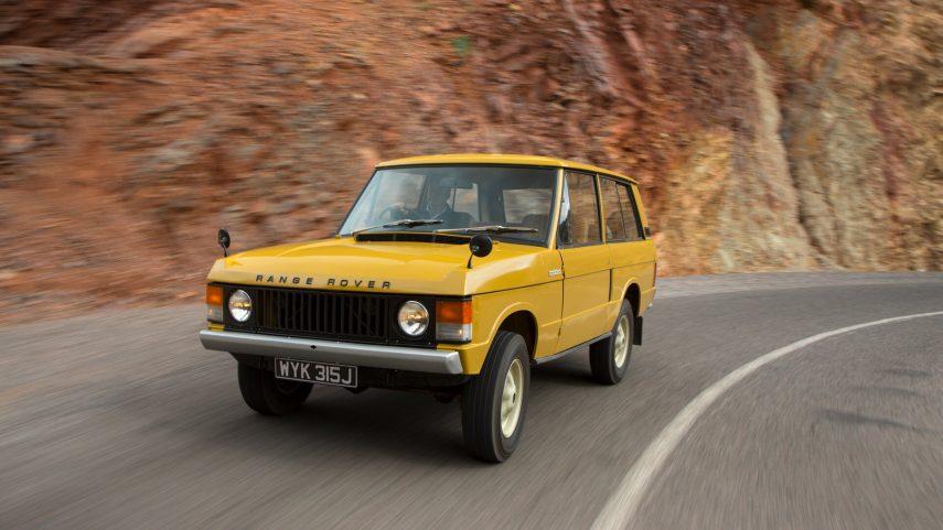 Land Rover Range Rover 3p 1970 1