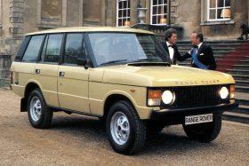 Land Rover Range Rover 5p 1981 1
