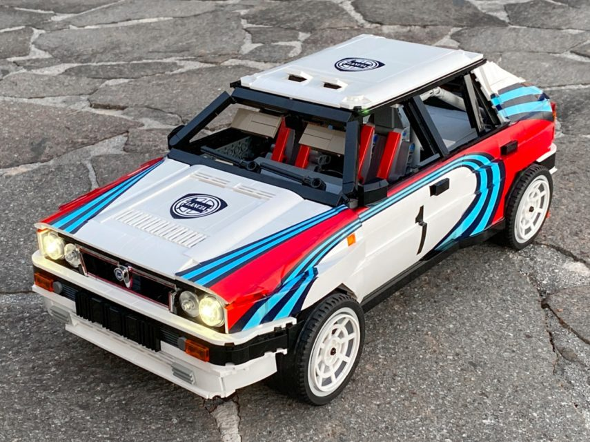 ¿Quieres este Lancia Delta HF Integrale de LEGO?