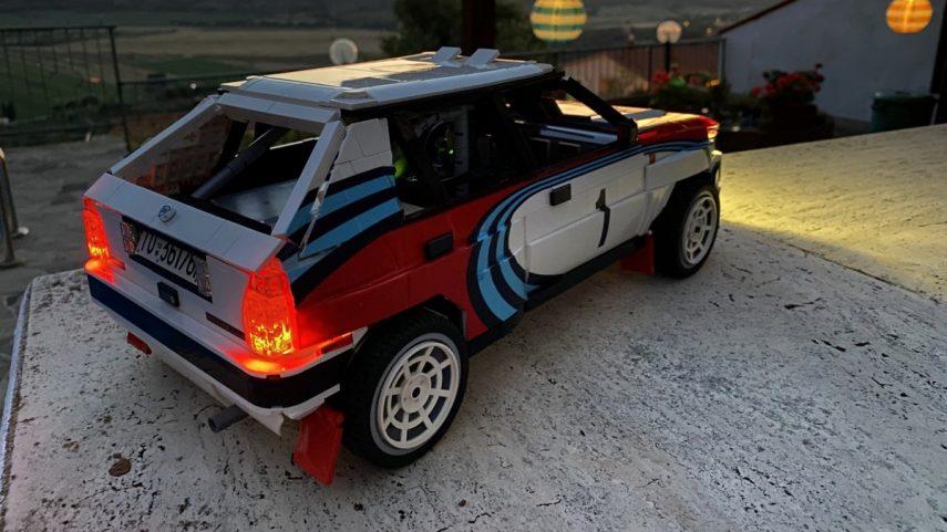 LEGO Lancia Delta Integrale Rally Car (3)