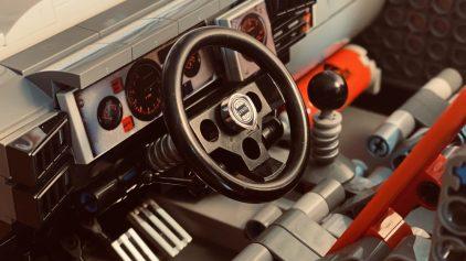 LEGO Lancia Delta Integrale Rally Car (5)