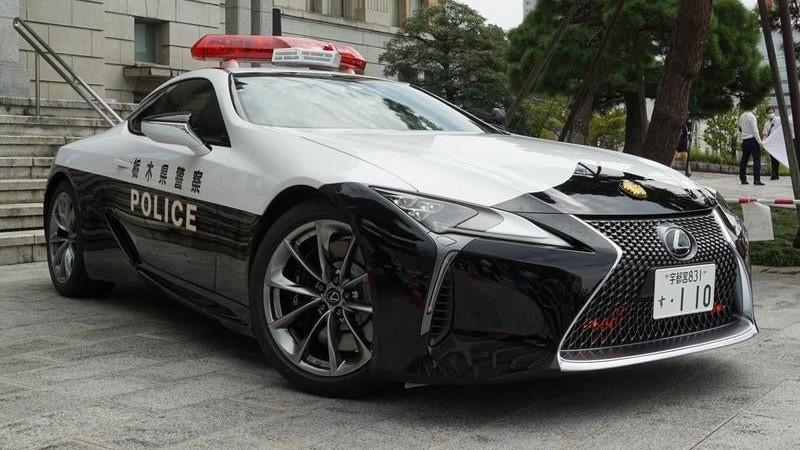 El Lexus LC 500 se alista en la policía de Japón