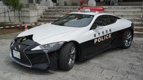 Lexus LC 500 Policía Japón (2)