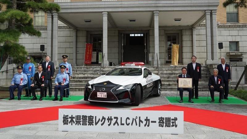 Lexus LC 500 Policía Japón (5)