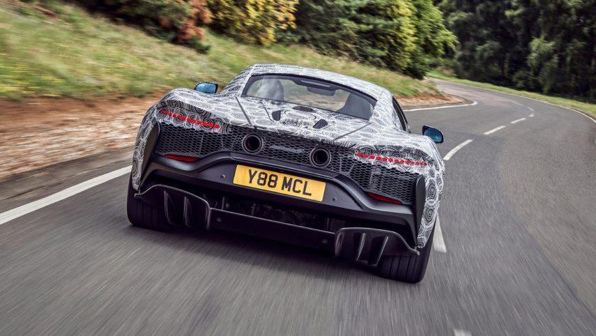 McLaren calienta el motor electrificado de su próximo modelo