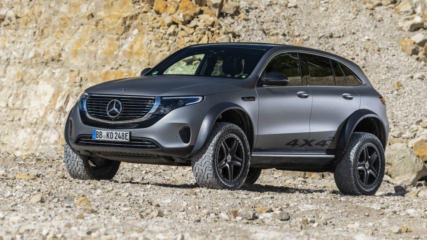 Mercedes-Benz EQC 4×4², un SUV eléctrico venido a más