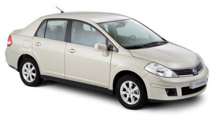 Nissan Tiida sedan C11 1