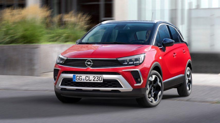 El Opel Crossland 2021 ya está a la venta en España