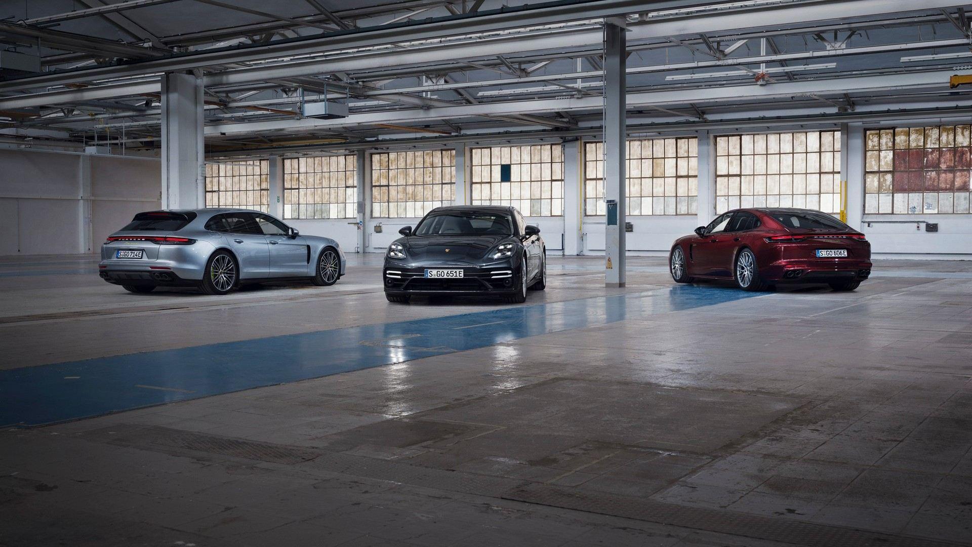 Desvelados casi todos los detalles del Porsche Panamera 2021
