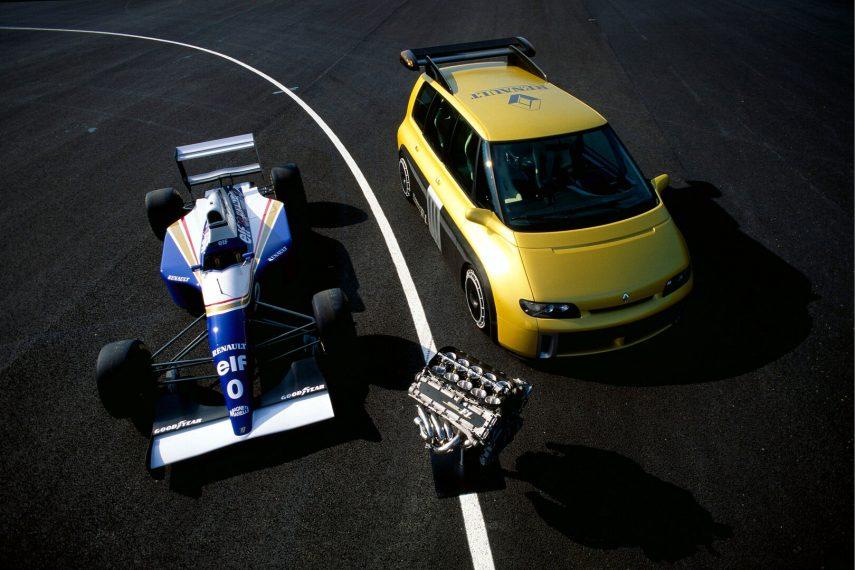 Coche del día: Renault Espace F1 Concept
