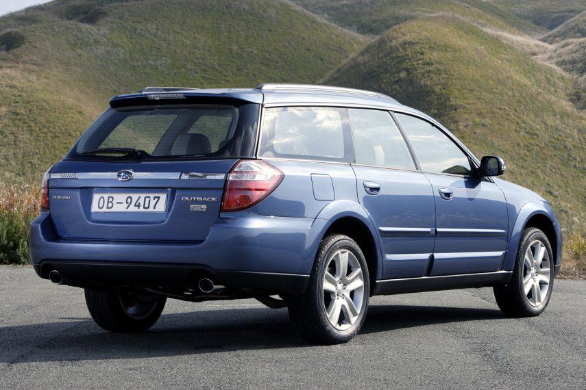 Subaru Outback 20D Boxer Diesel BP 04
