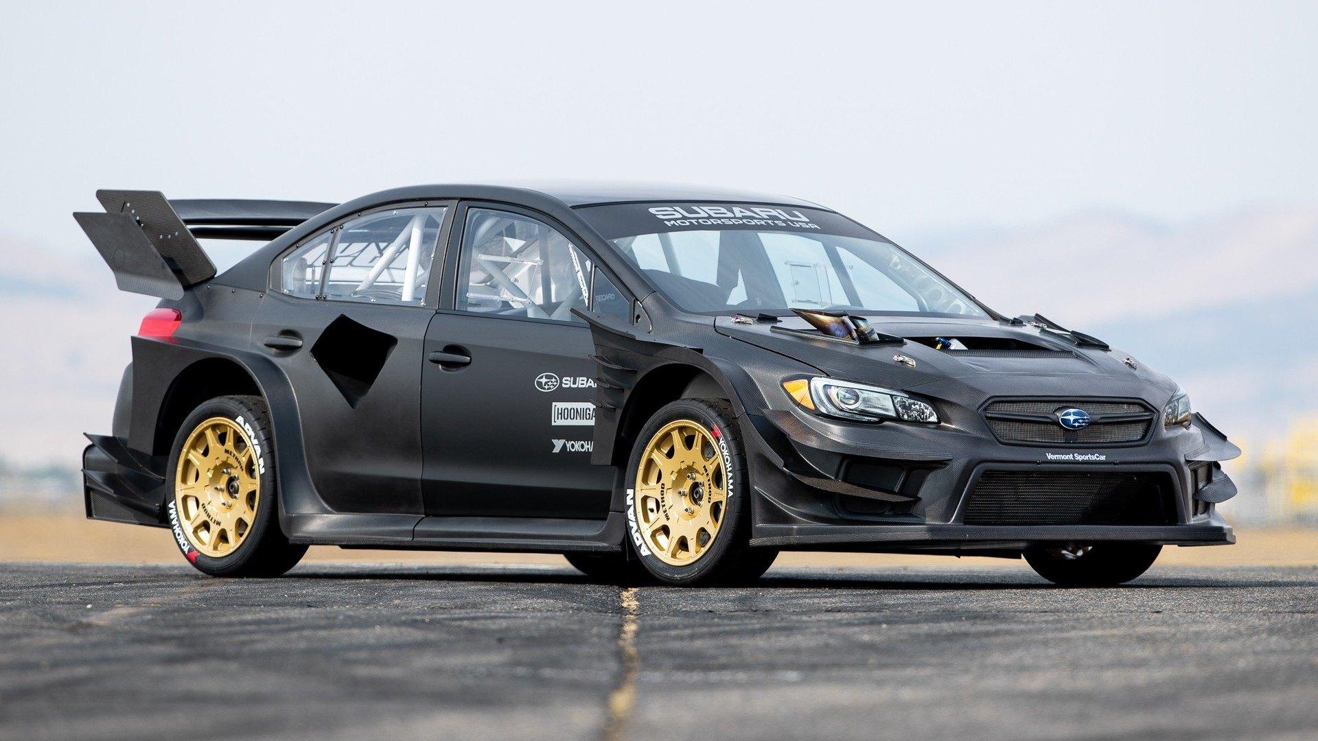 Subaru y Travis Pastrana dan a conocer al WRX STI más bestia