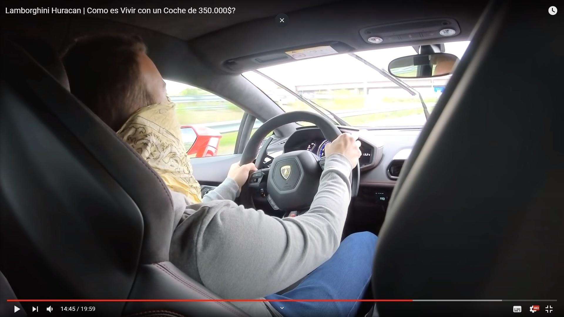El youtuber Vicesat ha sido detenido por grabarse conduciendo a más de 230 km/h