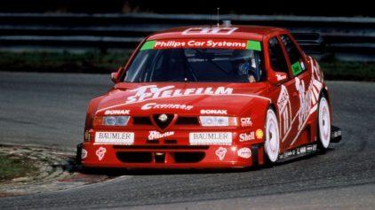Alfa Romeo 155 V6 Ti, un italiano en el DTM