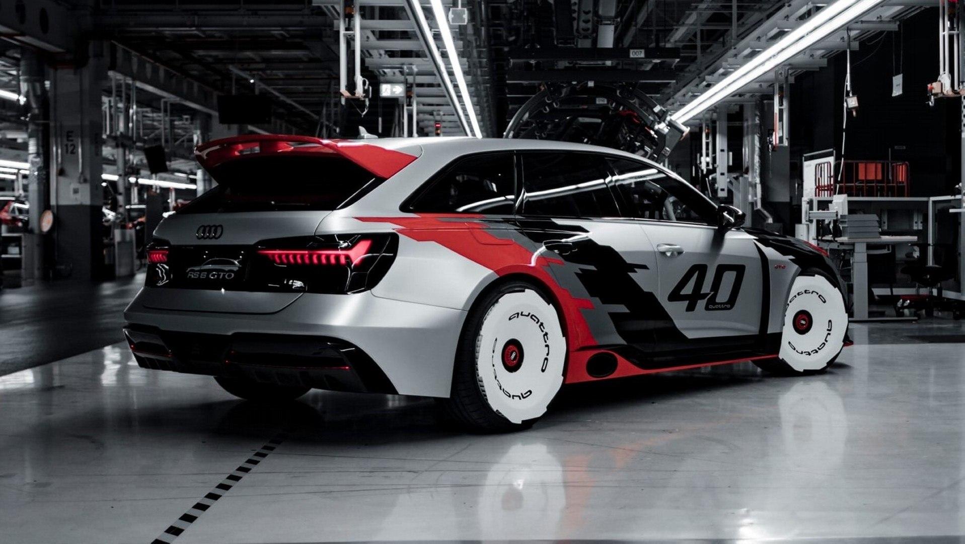 """Audi RS 6 GTO Concept, el """"y si…"""" que jamás llegará"""