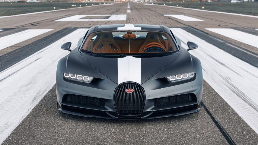 """El Bugatti Chiron Sport """"Les Légendes du Ciel"""" tiene reminiscencias aéreas"""