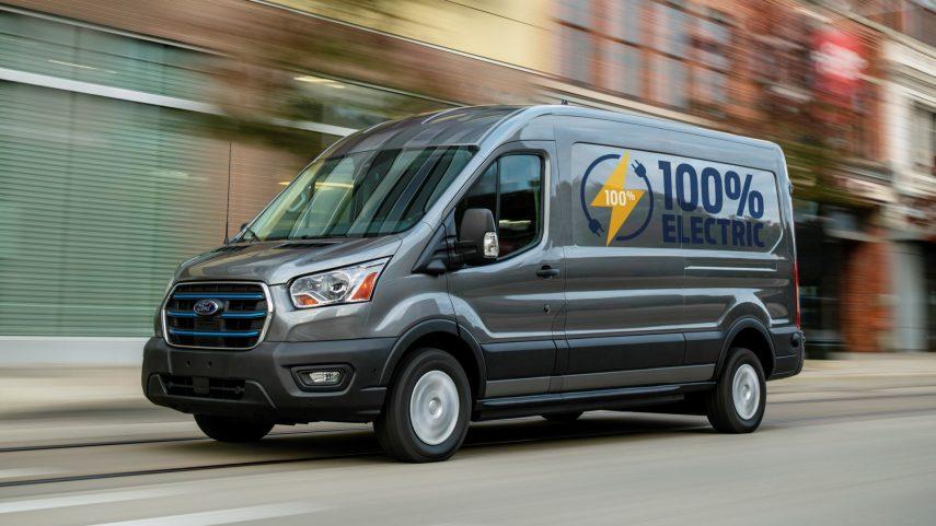 Ford E-Transit 2022, un capítulo nuevo en la historia de la Transit