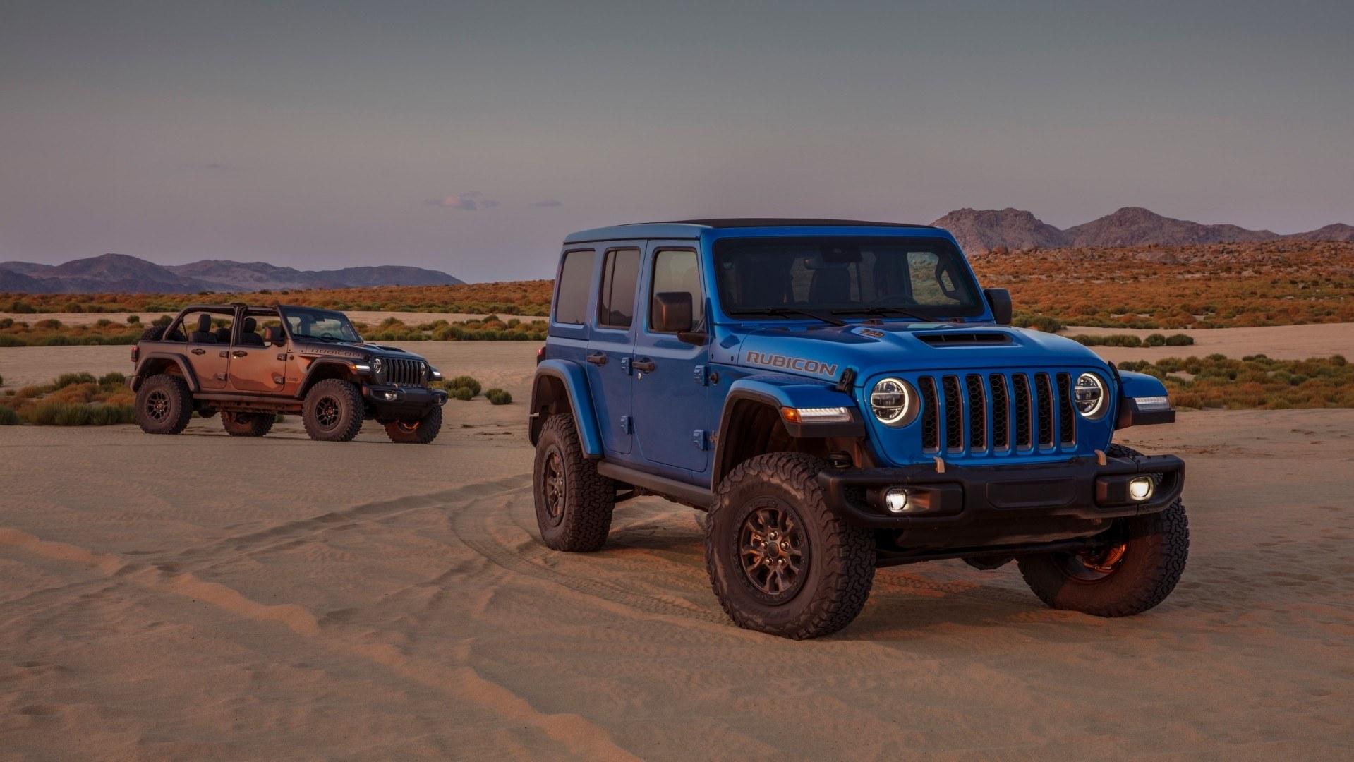 2021 Jeep Wrangler Rubicon 392, por fin llega el motor V8