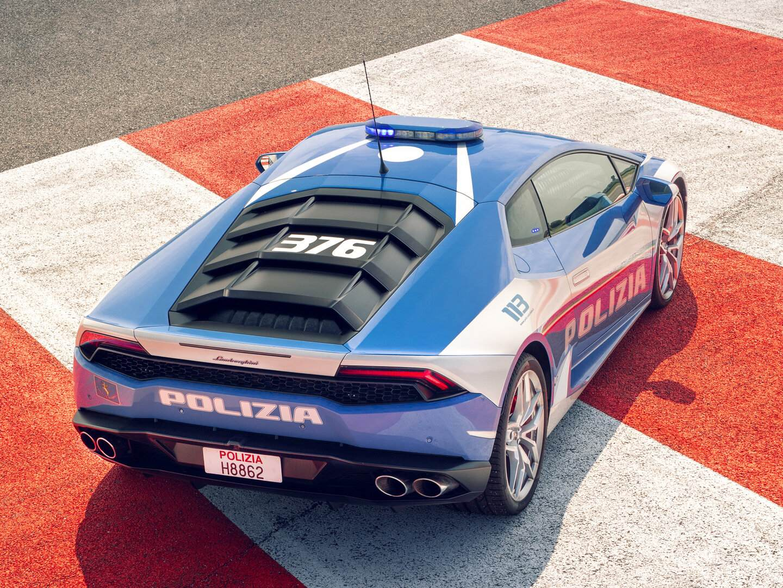Lamborghini Huracan LP 610 4 Polizia 2