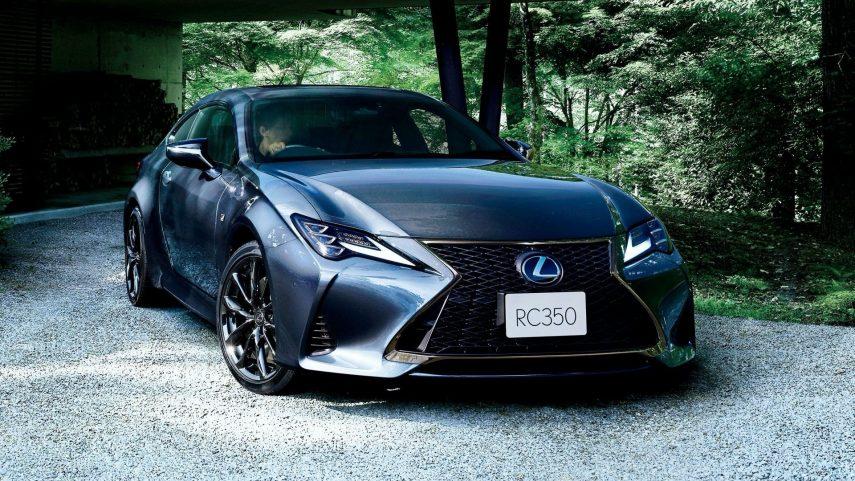 """Lexus RC """"Emotional Ash"""", una oscura elegancia"""