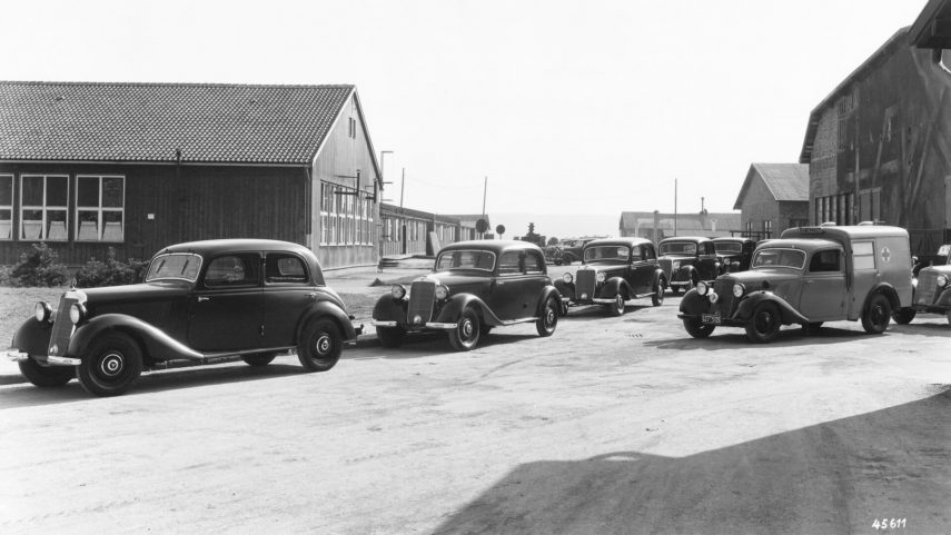Mercedes-Benz 170 V, el salvador de Daimler tras la Segunda Guerra Mundial