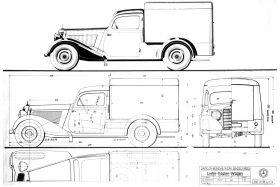 Mercedes Benz 170 V Kastenwagen W136 10