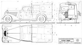 Mercedes Benz 170 V Krankenwagen W136 10