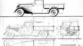 Mercedes Benz 170 V Pritschenwagen W136 10