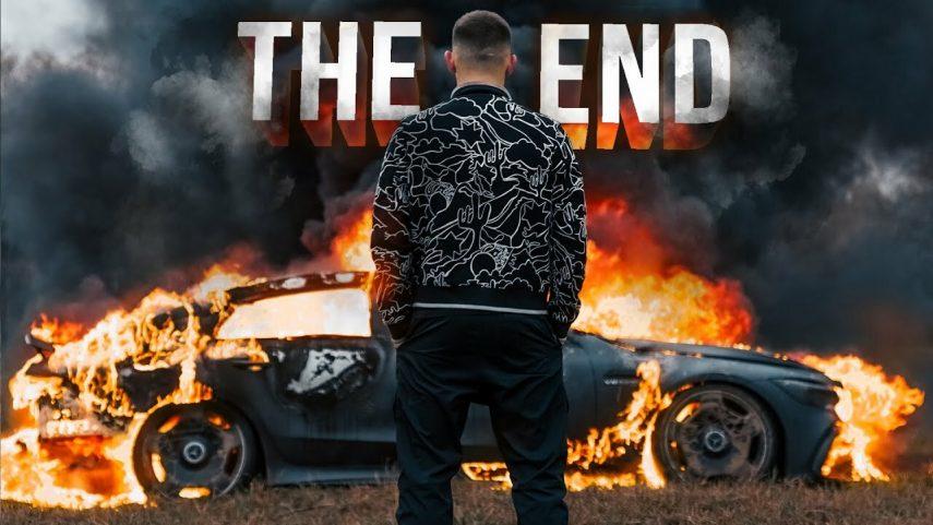 Un youtuber ruso quema su averiado Mercedes-AMG GT 63 S, valorado en 150.000 euros