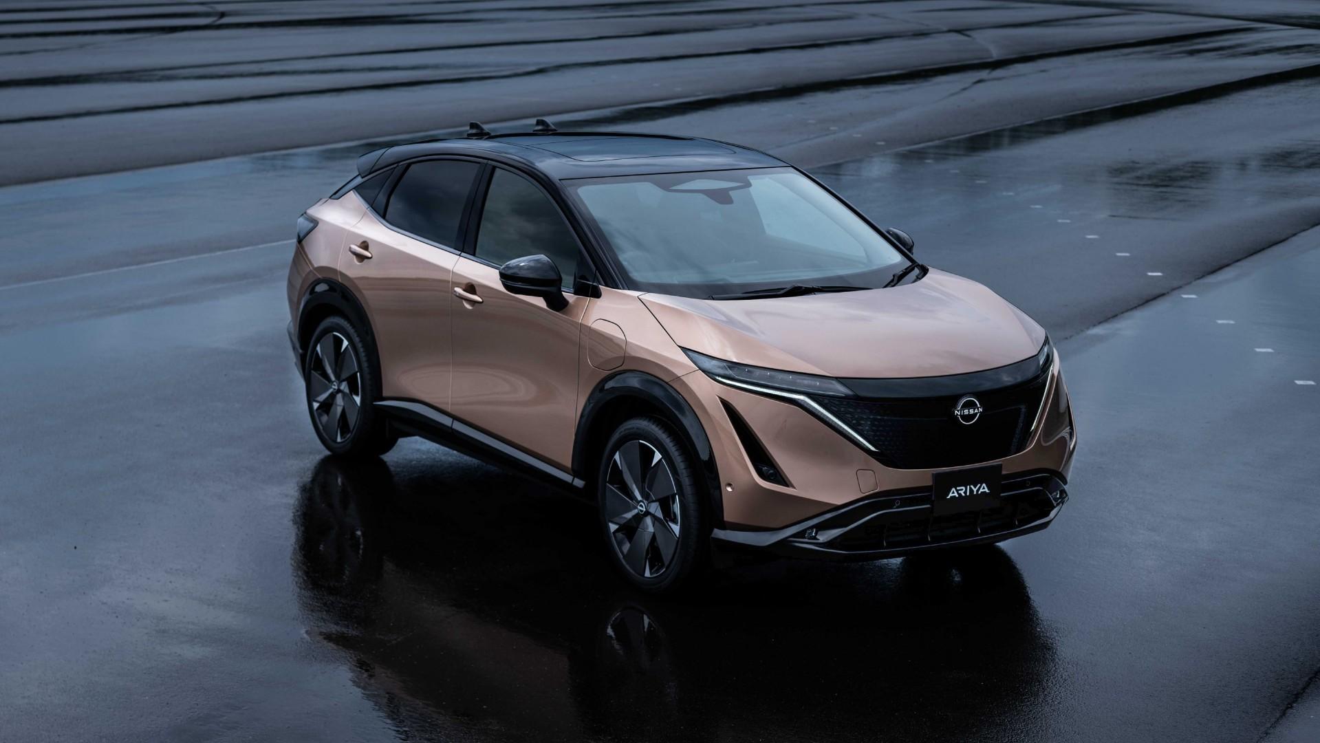 El nuevo Nissan Ariya ya ha aterrizado en Europa
