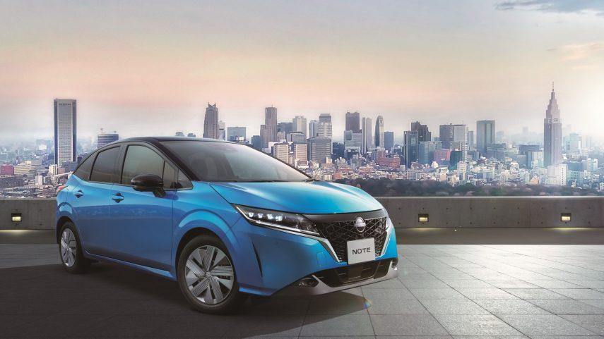 El Nissan Note 2021 da un enorme salto cualitativo