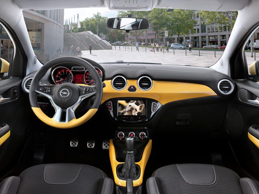 Opel Adam Slam interior 2013