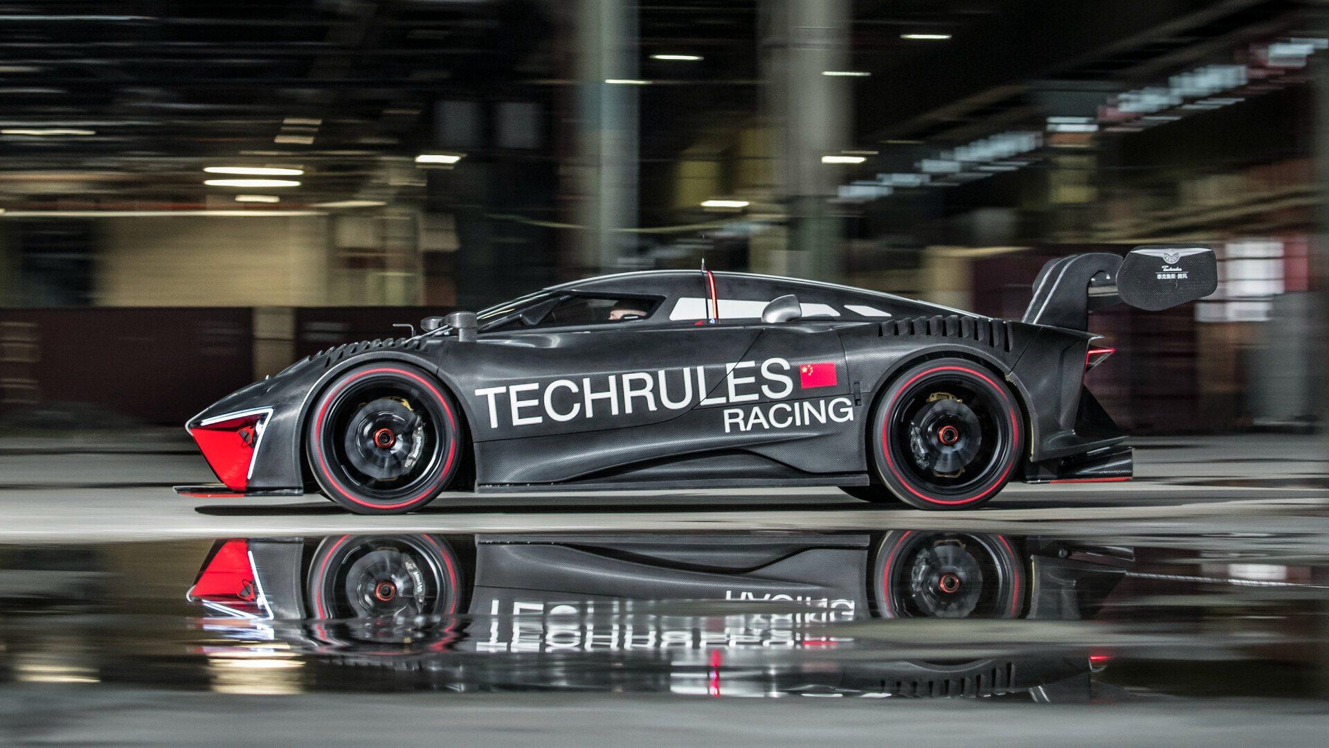 Coche del día: Techrules Ren RS