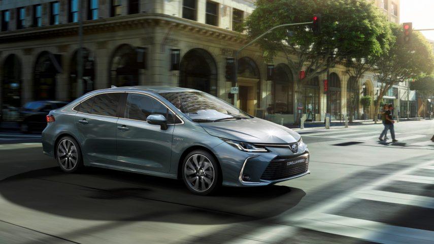 Toyota Corolla Electric Hybrid 2021, ahora más equipado y con GPF