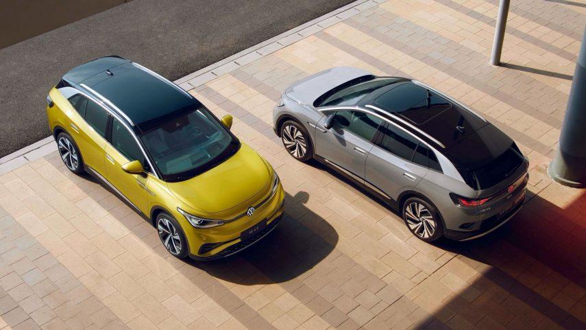 Volkswagen presenta los ID.4 X y Crozz para China