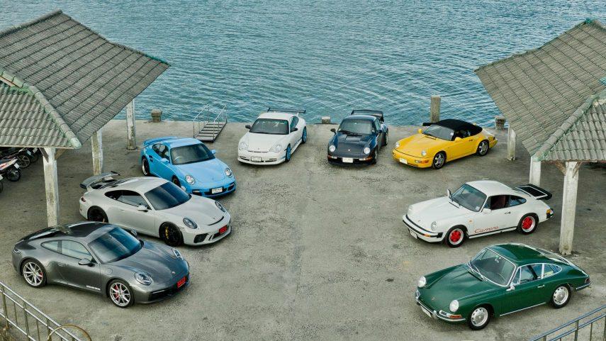 05 Generaciones Porsche 911