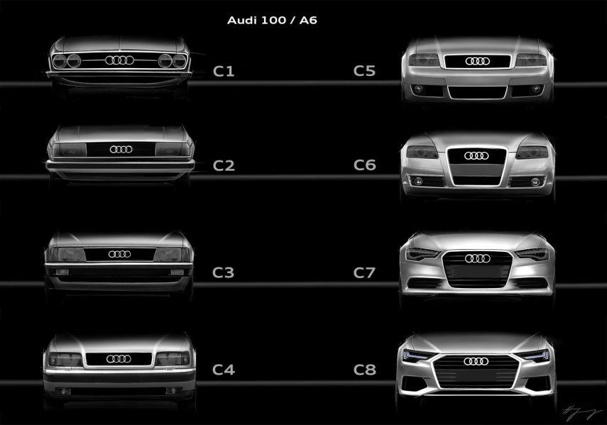 10 Parrillas frontales Audi